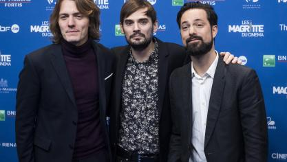 Le groupe Puggy. © Belga / Laurie Dieffembacq.