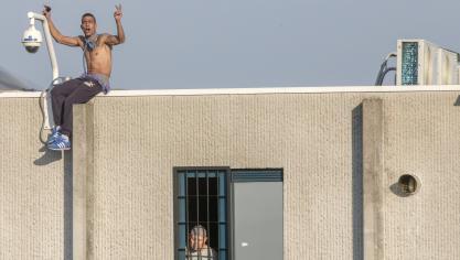 La détention des enfants limitée… par le bruit des avions