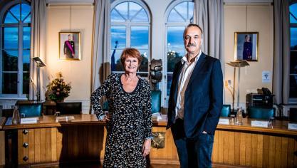Communales 2018: l'interview Tac-o-Tac de Martine Payfa et Olivier Deleuze