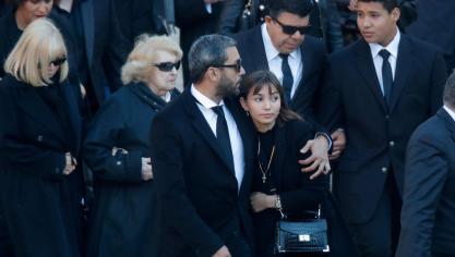 La famille de Charles Aznavour © Reuters