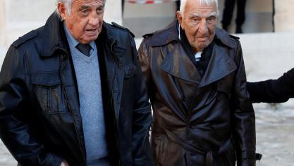 Jean-Paul Belmondo et Charles Gérard © Reuters
