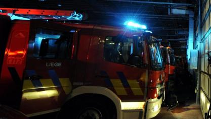 Explosion dans une entreprise à Wandre, une partie du bâtiment s'effondre