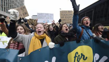 Climate: 12,500 young people demonstrate this Thursday in Brussels