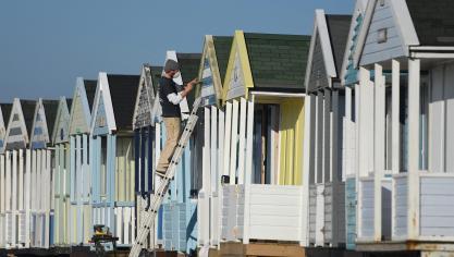 Suffolk, United Kingdom. © Press Association Images.