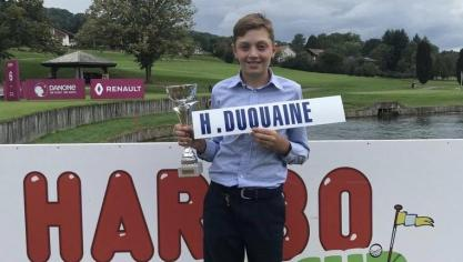 Fabuleux résultat d'Hugo Duquaine en France ce week-end