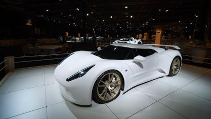 Salon de l'auto: exposition de voitures de luxe «Dream Cars»