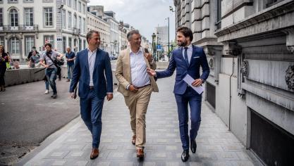 Négociations fédérales: le CDH reçu pendant plus de trois heures par le trio Bouchez-Coens-Lachaert