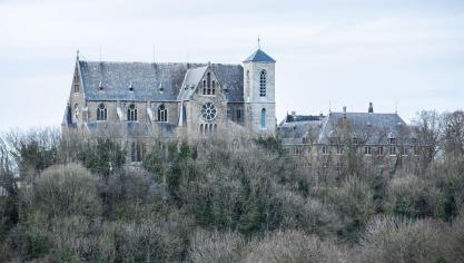 L'église de Chèvremont. © Christophe Bortels.