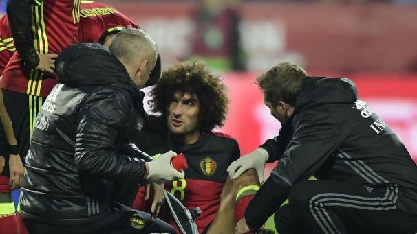 Marouane Fellaini est sorti sur blessure au cours de Bosnie-Belgique (3-4)   le premier diagnostic est inquiétant! 025b5f74ee1