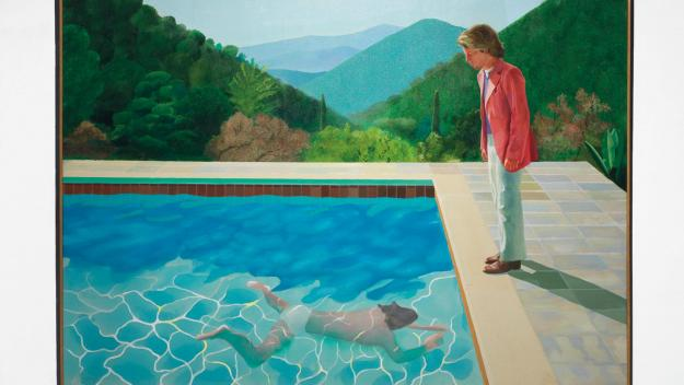 La fameuse œuvre record de David Hockney.