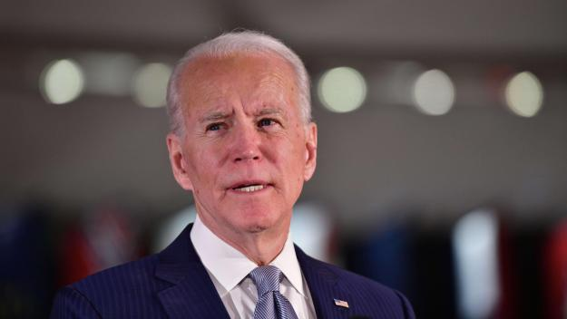 US-PRESIDENTIAL-CANDIDATE-JOE-BIDEN-MAKES-PRIMARY-NIGHT-REMARKS-