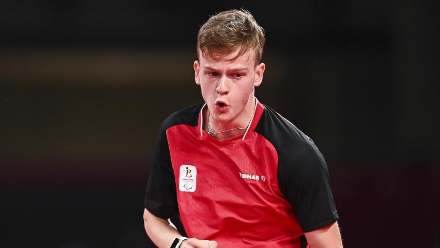 Paralympic Games: Laurens Devos wins a second gold medal in table tennis