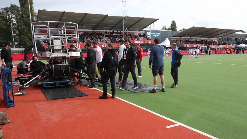 Pro League hockey: Red Panthers game against Germany delayed by almost 2 hours due to crane